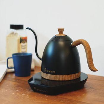 0.6L Brewista Artisan zmienna temperatura cyfrowy czajnik 220V AU/UK wtyczka inteligentny czajnik gęsiej szyi pourover ręcznie warzone dzbanek do kawy