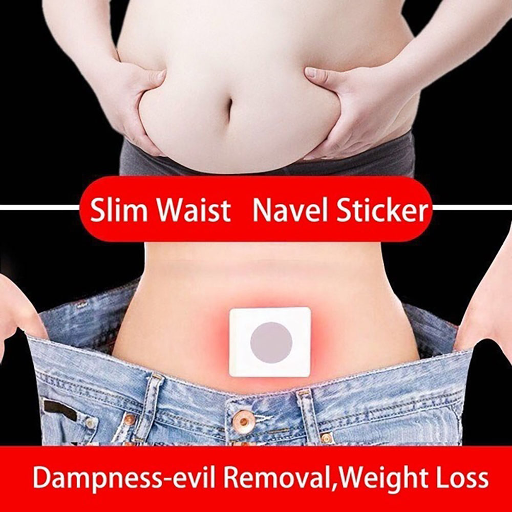 10/30pcs Chinese Medicine Weight Loss Navel Sticker Slim Detox Adhesive Sheet Fat Burning Slimming Diet Patch Pads Health Care