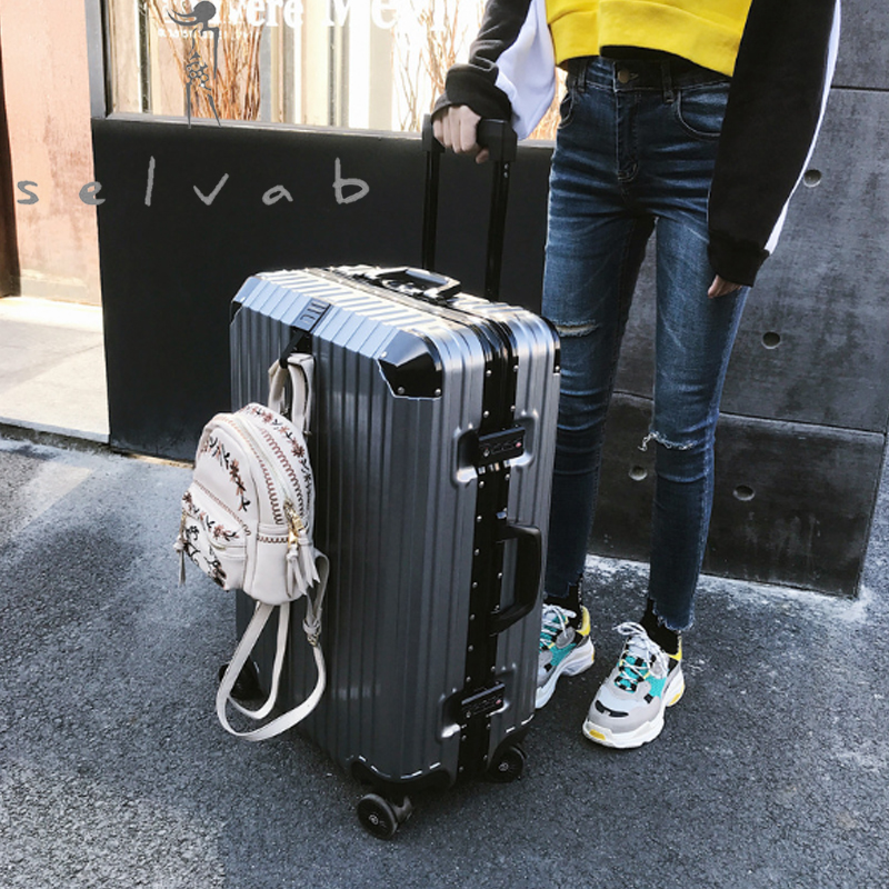 Trolley Travel Universal Wheel Suitcase Korean Female Male Student Password Box 2019 New Luxury High Quality Luggage Bag