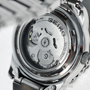 Image 5 - seiko watch men 5 automatic watch top brand luxury Sport men watch set waterproof mechanical military watch relogio masculinoSNZ