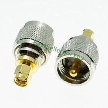 UHF штекер PL259 штекер PL 259 штекер к SMA штекер Разъем RF адаптер