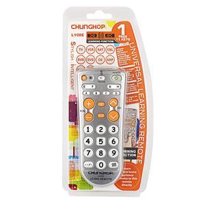 Image 3 - 1 sztuk kombinowany uniwersalny kontroler do nauki zdalne sterowanie Chunghop L108E dla TV/SAT/DVD/CBL/DVB T/AUX duży przycisk kopiowania