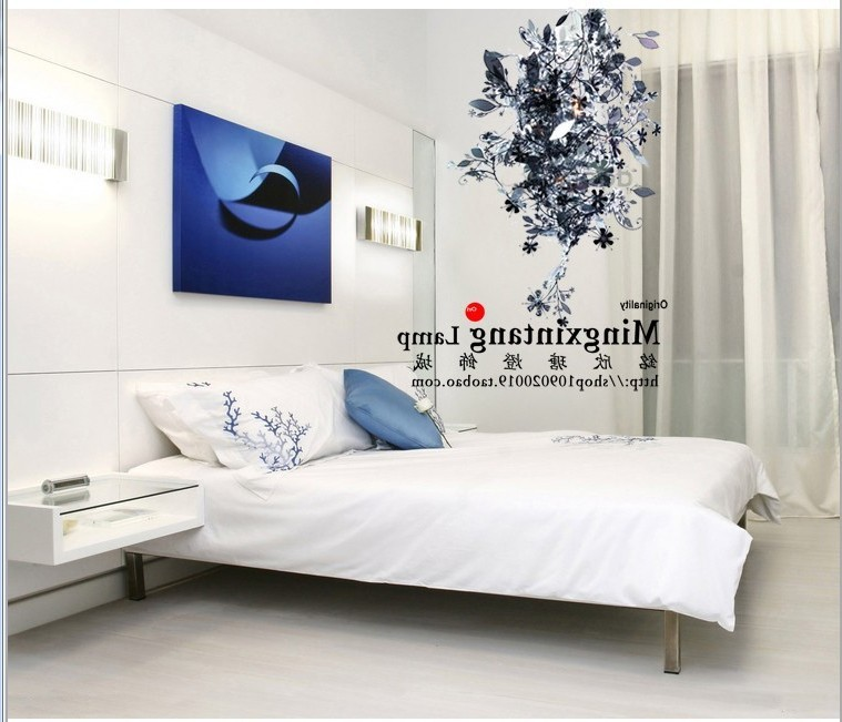 Modern Suspension Luminaire Lamparas American Iron Flower Pendant Light Dining Room Bedroom Light Bed Deco Chambre