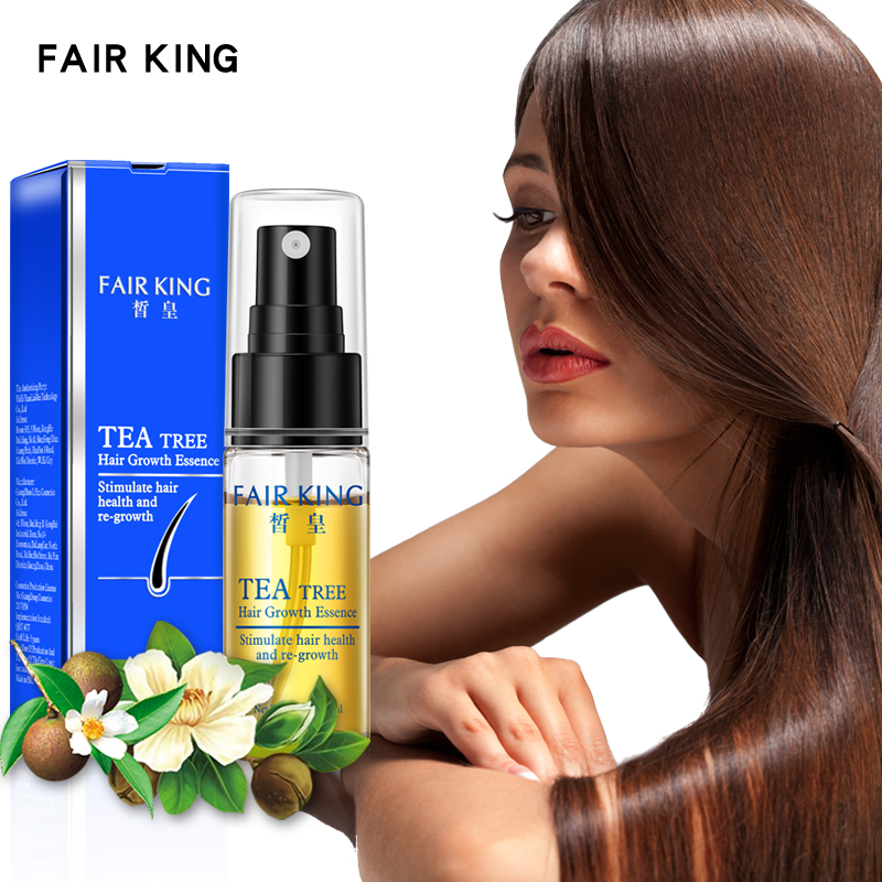 Tea Tree Hair Growth Essence Hair Loss Products Essential Oil Liquid Treatment Preventing Hair Loss Hair Care Products 20ml