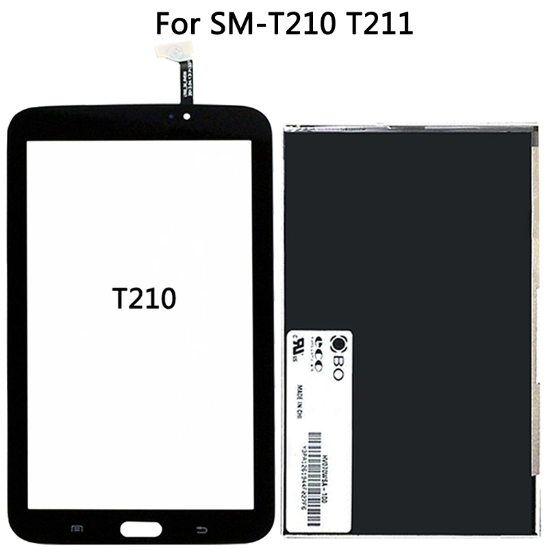 New T210 LCD Touch Screen For Samsung Galaxy Tab 3 7.0 SM-T211 LCD Display Touch Sensor Glass Digitizer Panel