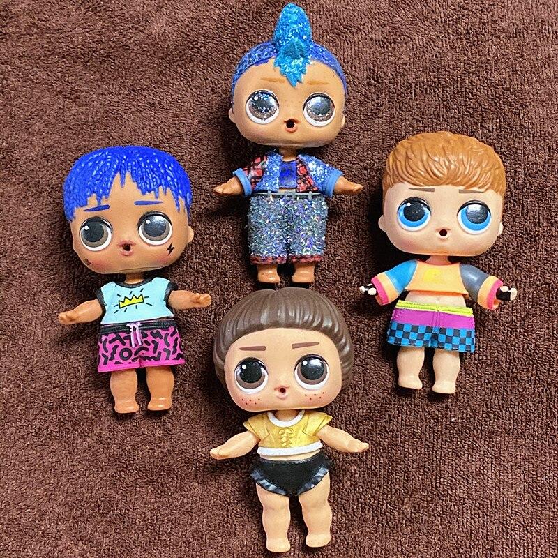 Nova Chegada L.O.L. SURPRESA! Meninos com Roupas Coleção Limitada Reluzente Punk menino com Bling Ternos LOL Boneca Com Corpo Menino Brinquedos