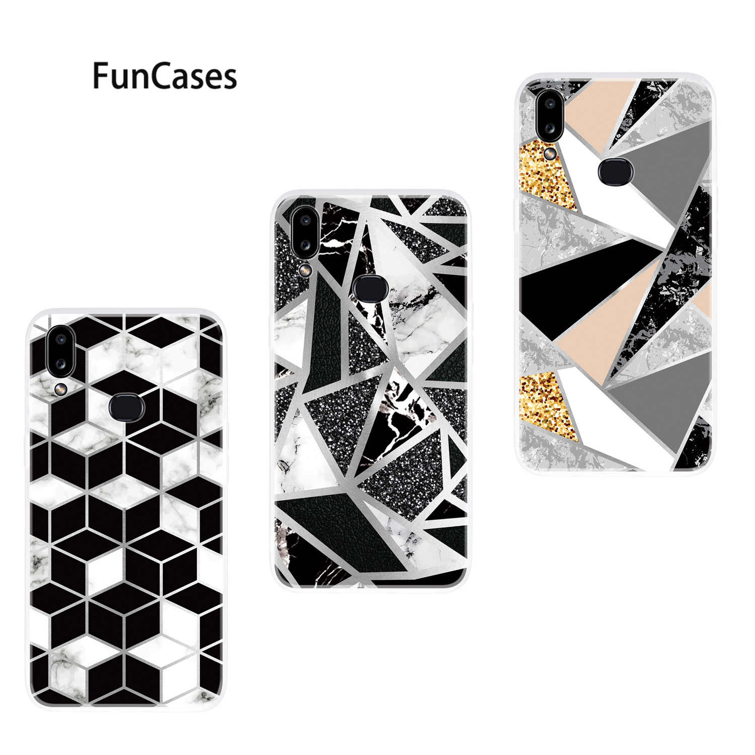 Diamond Soft TPU Case For Samsung A01 Cove Samsung Galaxy A81 A10 A91 J4 Plus A21 J6 2018 A70 A20E A71 A11 A10S Cell Phone Cover