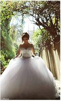 Gorgeous 2020 Pearls Beading Long Sleeves Ball camo Wedding weding dress gowns Dresses for Bride robe vestido de noiva mariee