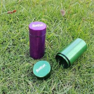 Image 3 - Honeypuff Luchtdicht Geur Proof Aluminium Stash Jar Tabak Doos Metalen Kruid Opslag Container Pillendoosje