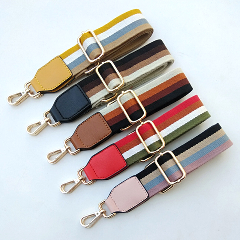 Nylon Bag Strap For Women Shoulder Bag Strap Wide Handbag Handle DIY Replacement Strap Adjustable Belt For Bag Accessories