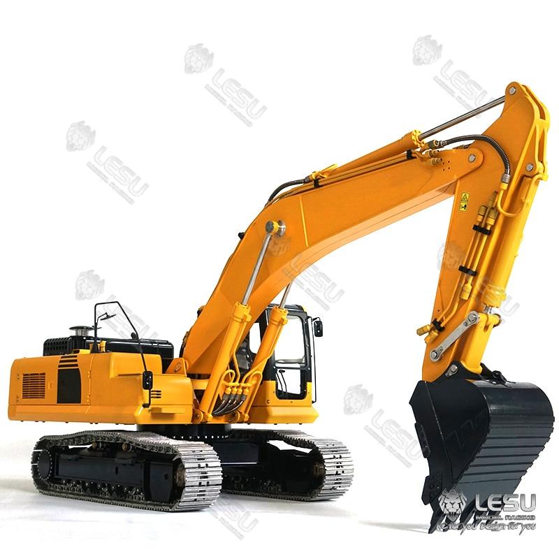 LESU 1/14 Zenoah Koma PC360 Hydraulic Excavator Full Metal Truck Tracks Sprocket ESC TH16382