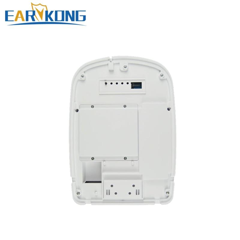 Wireless Outdoor Siren for Wifi Alarm System Acoustic-optical Security Alarm Wireless Siren UK*2