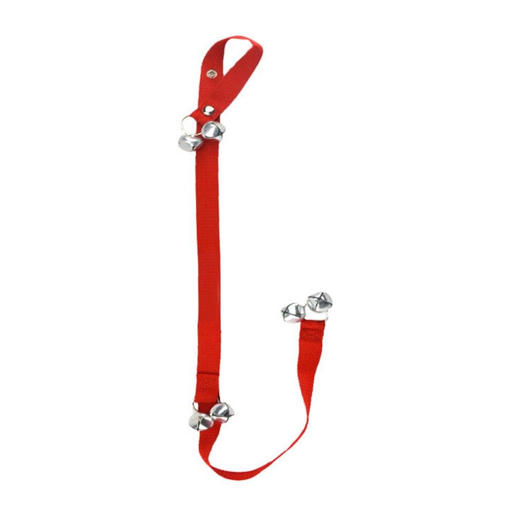 Dog Doorbells Premium Quality Training Potty Great  Adjustable Dog Bells For Pot Housebreaking Clicker Door Bell Training Tool-2