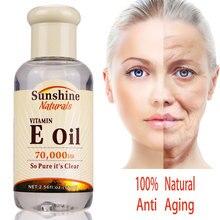 Витамин Е масляная эссенция для лица, сыворотка с гиалуроновой кислотой для ремонта кожи, обладает отбеливающим эффектом, для ухода за кожей, против акне уход за кожей лица Сыворотки увлажняющий крем TSLM1