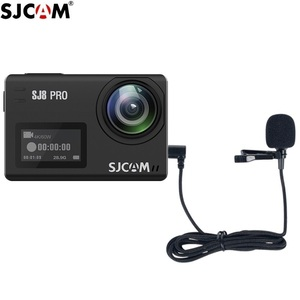 Image 4 - מקורי SJCAM SJ8 A10 אביזרי Tepy C חיצוני מיקרופון עבור SJ8 פרו/בתוספת/אוויר SJ9 שביתה/מקס פעולה מצלמה אבזרים
