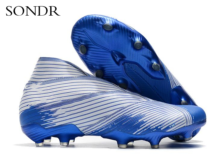 Men Football Boots High Ankle Soccer Shoe Women Soft Groud Man Football Shoes Socks Cleats Training