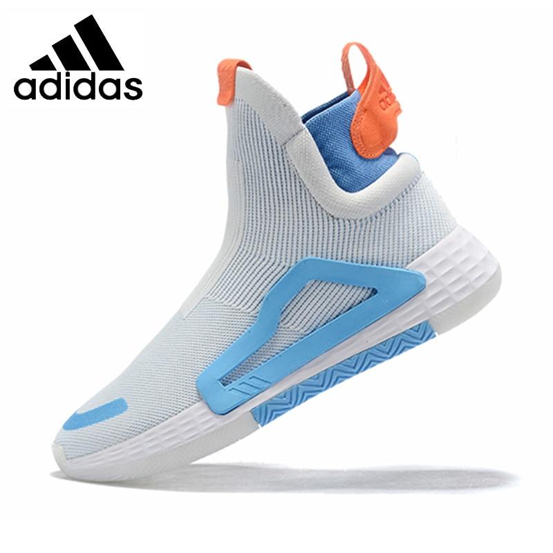 Adidas adidas n3xt l3v3l amortecido homem basketabll sapatos respirável macio mitchell tênis