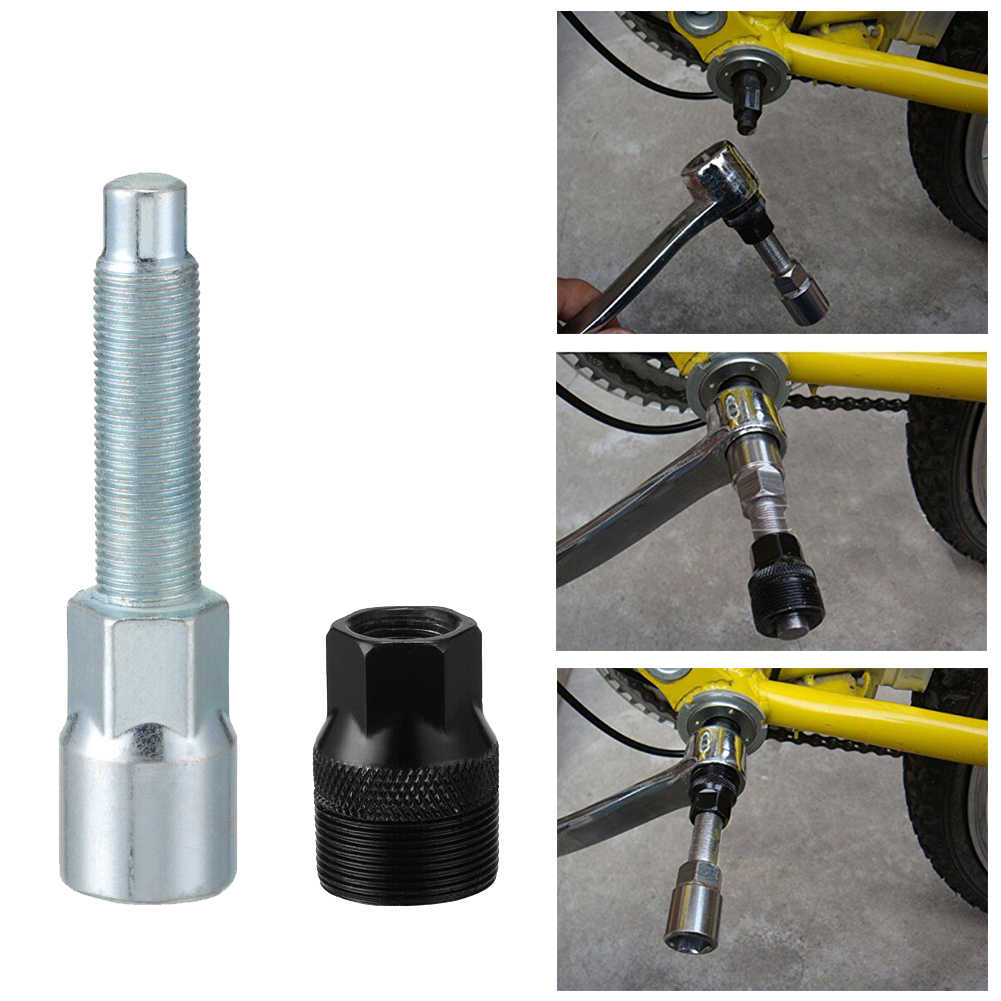 Cycling Bicycle Riding Crankset Removal Tool Mountain Bike Crank Puller
