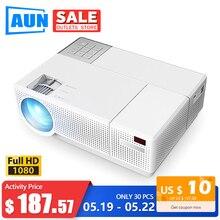 AUN Full HD Projector D70, 1920x1080P LED Projector. 6800 Lu