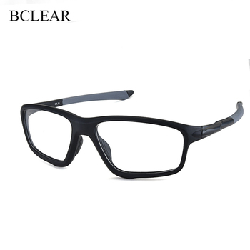 BCLEAR TR90 Sports Male Eyeglasses Frame Prescription Eyewear Basketball Spectacle Frame Glasses Optical Eye Glasses Frames Men sorbern men s glasses clear lens eyewear tr90 eyeglasses frames men unisex nerd glasses women spring hinge frame glasses optic