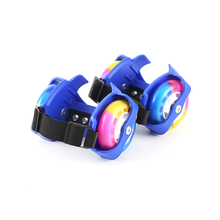 Wheel-Roller Roller-Skates Children Flashing-Wheel And Adjustable Adults Sports