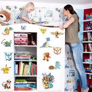 45x60 см Мультяшные наклейки на стену феи, съемная милая семья, наклейка на стену, наклейки для дома, виниловая роспись, декор для детской комна...