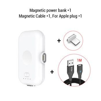 PZOZ Μαγνητικός μίνι φορτιστής Power Banks Gadgets MSOW