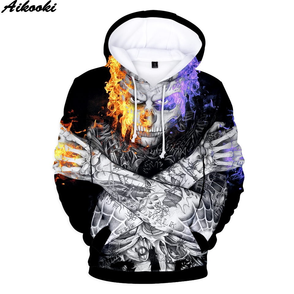 Rick Genest <font><b>3D</b></font> <font><b>Hoodies</b></font> Men/Women/kids Autumn <font><b>3D</b></font> Print Personality Sweatshirts Rick Genest <font><b>3D</b></font> <font><b>Hoodies</b></font> <font><b>Unisex</b></font> children casual Tops image