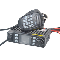 Anytone AT 779UV Mini ham Mobile Radio VHF UHF Dual band 199CH 25W FM Scrambler Mobile Car Radio 12V Car Cigarette supply