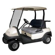 Легкая Складная многоразовая тележка для гольфа, моющаяся, для улицы, теплая, для сада, для 2 человек, с застежкой-молнией, чехол для сиденья, многофункциональные одеяла