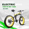 Электрический велосипед 26 дюймов с толстыми шинами электрический автомобиль электрический велосипед ebike Электрический горный велосипед э...