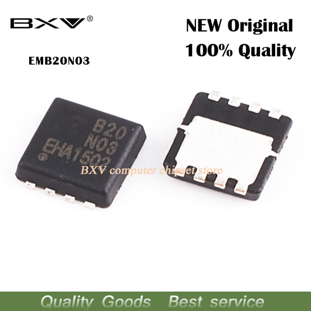 5 sztuk EMB20N03 B20N03 3mm * 3mm MOSFET QFN 8 nowa oryginalna darmowa wysyłka