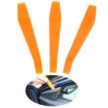 """14,2 см/5,5"""" 3 шт. Авто Радио Двери Клип Аудио Удаление рычаг для установки инструменты разборка пластмассовый Клин ручной набор инструментов"""