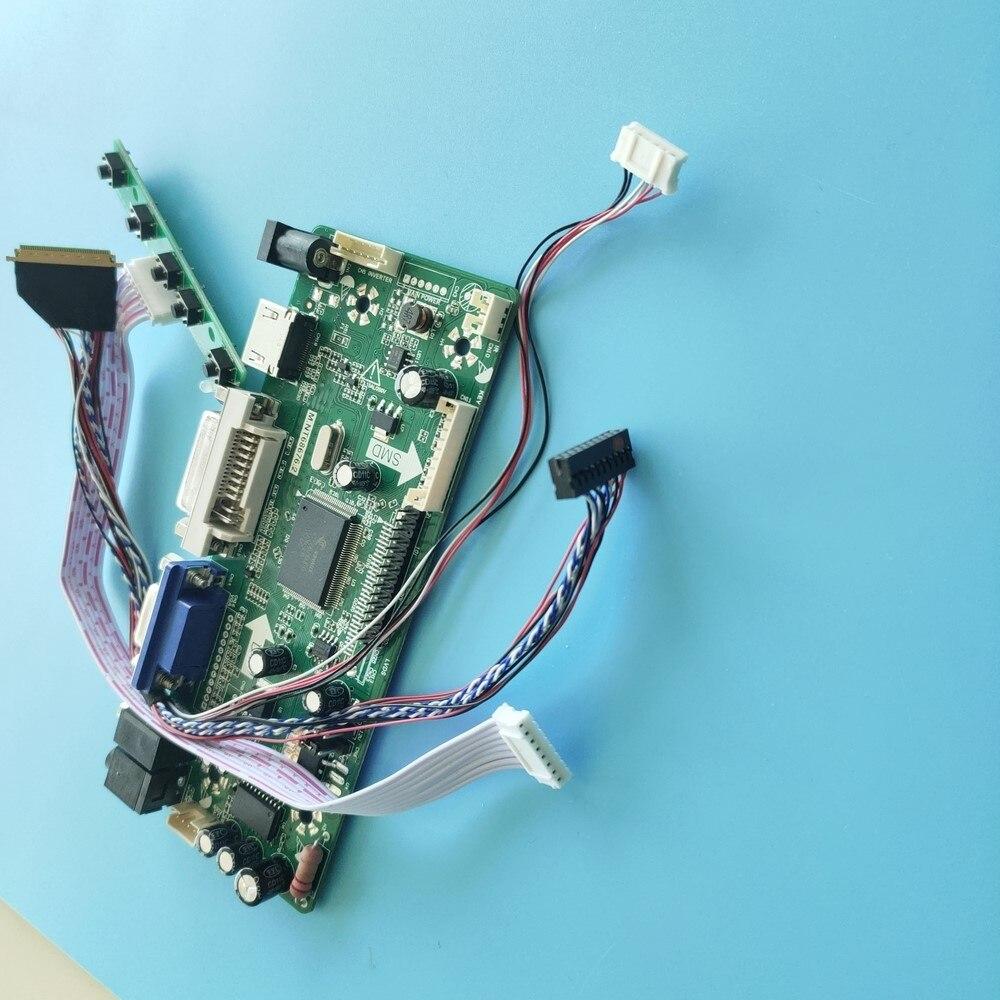 Zestaw do HB140WX1-100 BOE wyświetlacz DVI Panel Audio kontroler ekranu pokładzie 2019 VGA z wejściem HDMI, 14