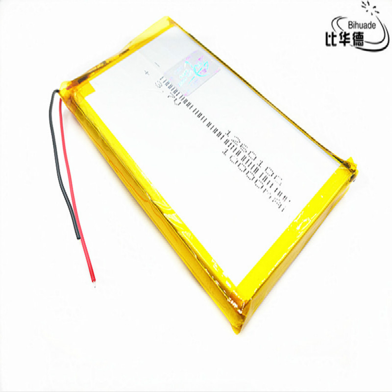 1/2/4Pcs Large Capacity 3.7V,10000mAH,1260100 Polymer Lithium Ion /Li-ion Rechargeable Battery For Tablet DVD TOY,POWER BANK,GPS