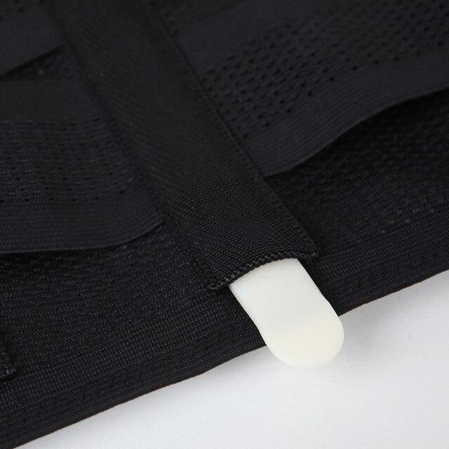 Men Compression Slimming Belts Body Shapers Belt Corset Fitness Girdle Waist Cincher Trimmer Abdomen Fat Burning Tummy Shapewear 5