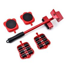 4pcs Moves Furniture Tool Transport Shifter Moving Wheel Slider Remover Roller Moving Tools Heavy Easily Lift Heavy Objects cheap CN(Origin) Other