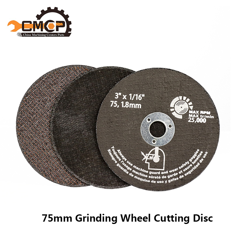 75mm Grinding Wheel Cutting Discs 75mm Circular Saw Blade For Metal Cutting Fiber Cutting Disc Abrasive Tools-in Saw Blades from Tools