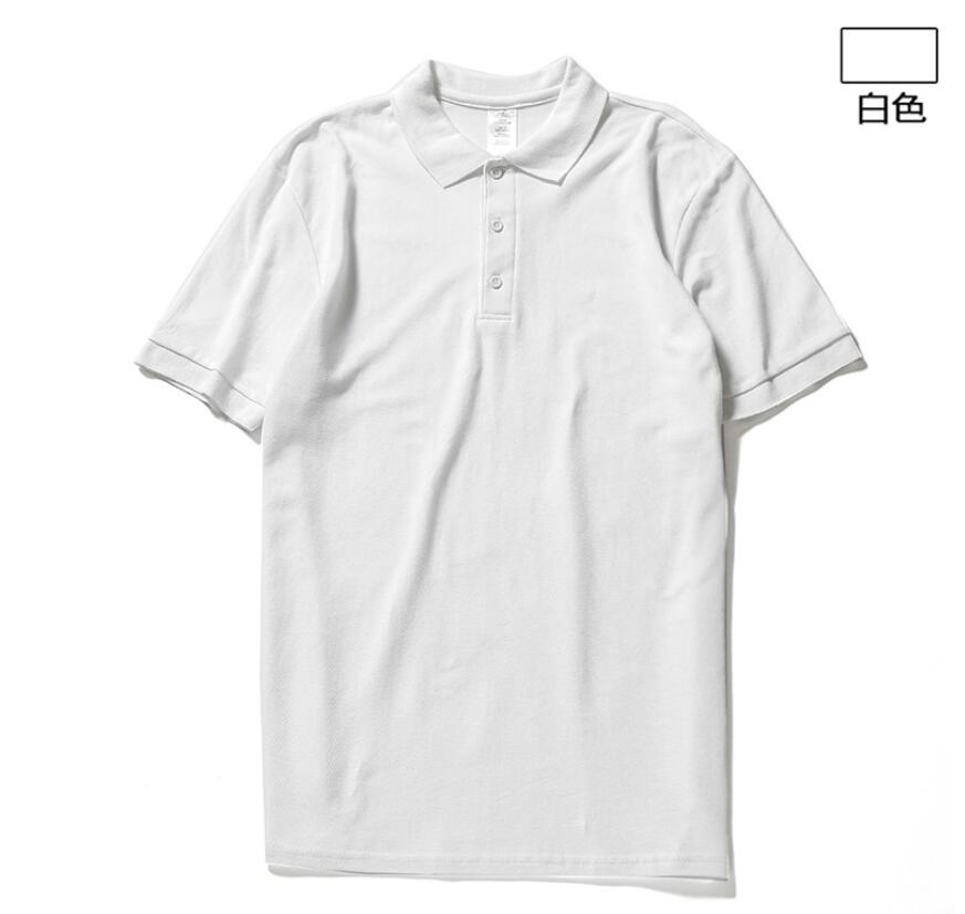 2019 New  Men Summer Fashion Polo High Quality Short Sleeve Business Casual Solid Male Polo Shirt Short Sleeve Cotton