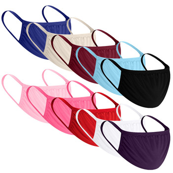10 Pcs Fashionable Cotton Anti-dust Face Mouth Masks Cover Black/gray/pink/blue/ Reusable Washable Cubrebocas Mascarilla Masker
