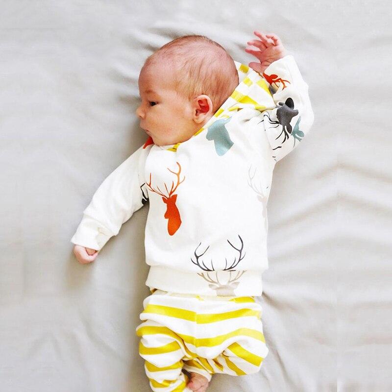 6 стилей, новые весенние милые комплекты одежды для новорожденных мальчиков футболка с длинными рукавами + штаны, Милый хлопковый комплект д...
