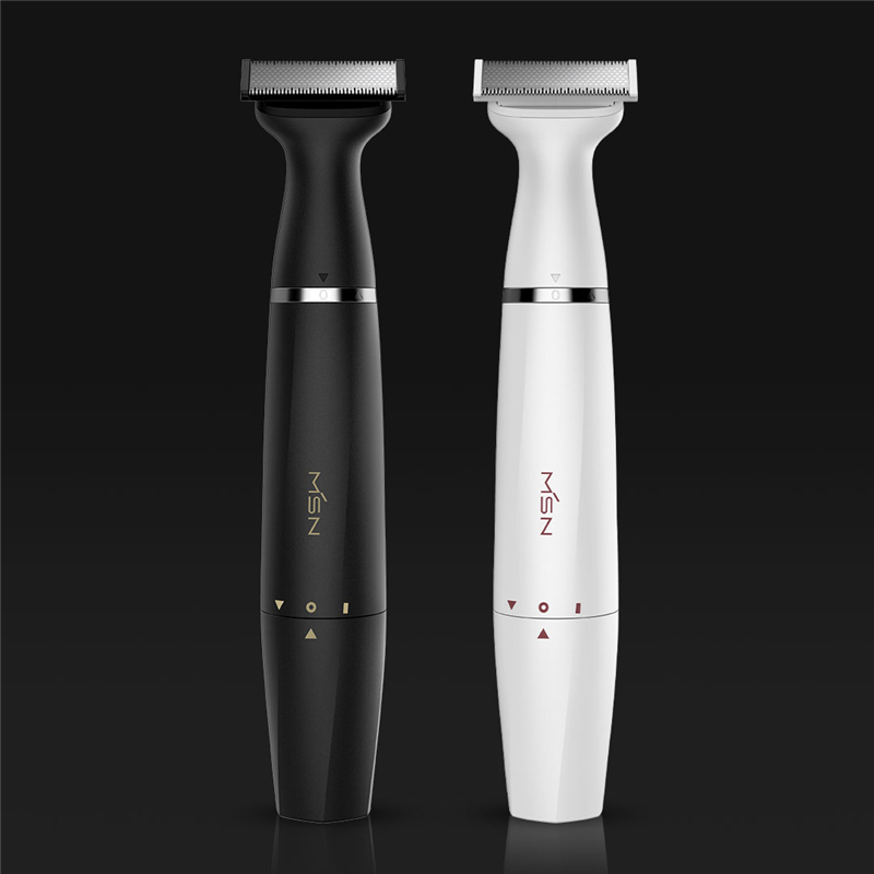 MSN New Multi-purpose Electric Hair Shaver Razor Waterproof Two-way Blade Dry & Wet Body Leg Armpit Hair Eyebrow Styling Trimmer