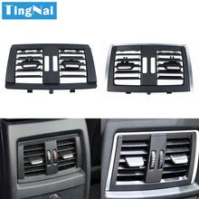 Tylne siedzenie świeżego powietrza klimatyzacja AC kratka wentylacyjna Panel dla BMW 3 1 2 4 serii F30 F31 F34 F35 F20 F87 F32 F33 F36 tanie tanio PC AND ABS Klimatyzacja montaż 0 05kg Replacement 10cm 2013-2019 Iso9000 16cm