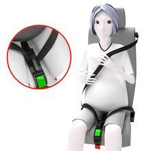 Accesorios para el coche embarazada, ajustador de cinturón para el asiento del coche y cinturón de seguridad para madres de maternidad, proteger bebé