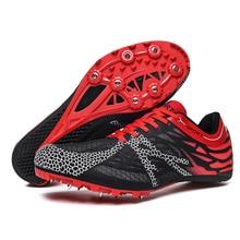 Профессиональная спортивная обувь для мужчин, женщин, мальчиков и девочек, обувь для прыжков, дышащие кроссовки с шипами, Размеры 35-45, мужская спортивная обувь