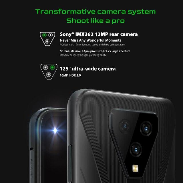 Blackview BL5000 смартфон с 6,36-дюймовым дисплеем, ОЗУ 8 Гб, ПЗУ 128 ГБ, 4980 мАч 5