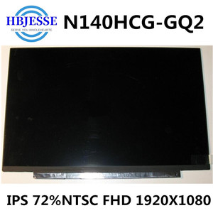 Original 14'' Matte Screen Display Panel Matrix Exact Model N140HCG-GQ2 Rev.C1 IPS 72%NTSC FHD 1920x1080 30 pins(China)