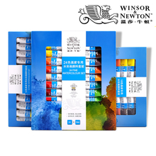 Oil-Paint-Set WINSORNEWTON Watercolors Acrylic Tube for Beginners Student 12/18/24/36-colors