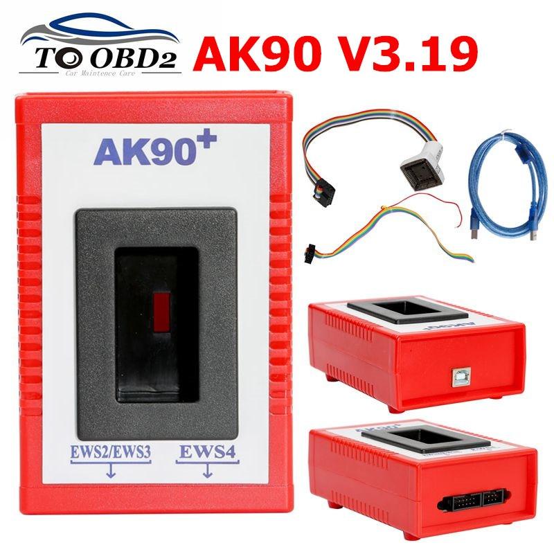 Latest V3.19 AK90 For BMW AK90+ AK 90 Key Programmer Tool For All BMW EWS AK 90 Key Maker AK-90 FOR BMW EWS 1995-2005