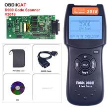 سعر المصنع!!! D900 رمز القارئ canecast الماسح OBD2 لايف PCM بيانات الماسح الضوئي السيارات رمز EOBD التشخيص ماسح الرادار الخاص بالسيارة